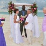 Beach Wedding Treasure Cay Pfarrer