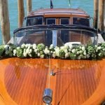 Blumendeko Boot klein