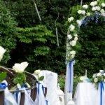 Boscolo Wedding Arch Garten