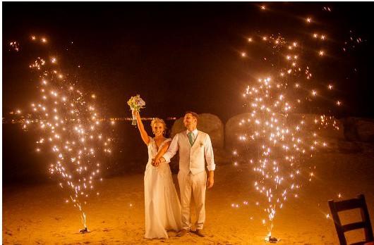 Feuerwerk Hochzeit Portugal