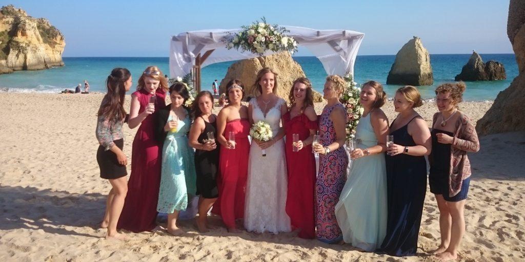 casarse en el Algarve