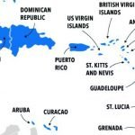 Karte Hispanola neu