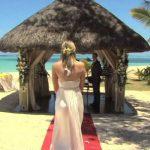 Lux le Morne Braut kommt
