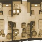 Marriott-apt-floorplan