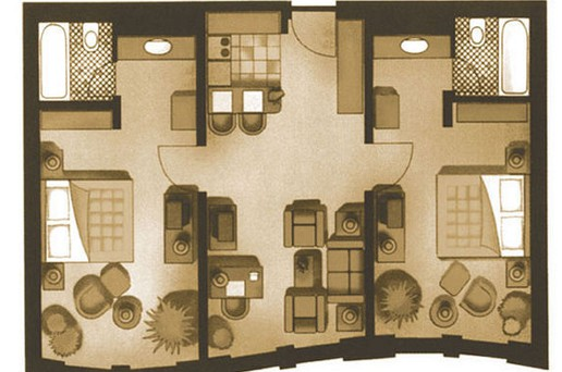 Marriott-apt-floorplan