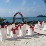 Merville Beacvh Wedding Chairs Beach