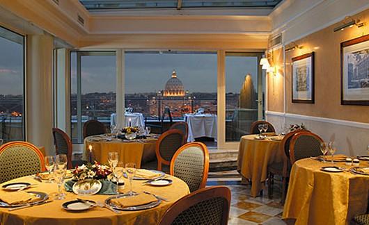 Dachterrassen in Rom