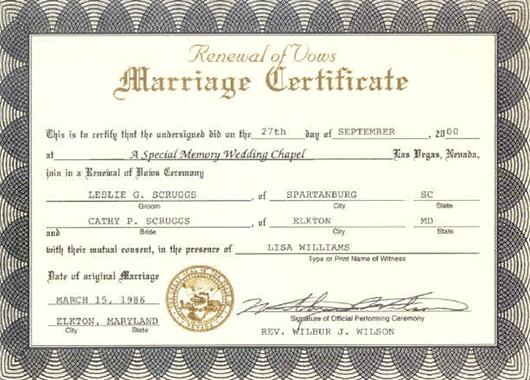 Traut Am Standesamt In Miami Oder Fort Lauderdale Registriert Dort Wird Dann Eine Amtliche Heiratsurkunde Das Sog Marriage Certificate Ausgestellt