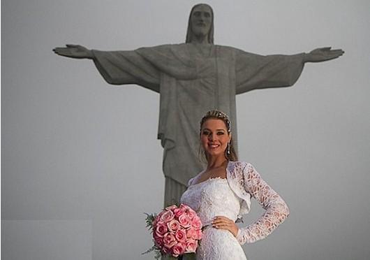 noiva no Christo