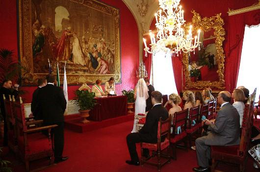 standesamtliche Hochzeit in Florenz