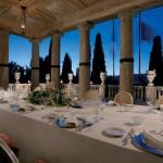 villa-cortine terrase-dinner
